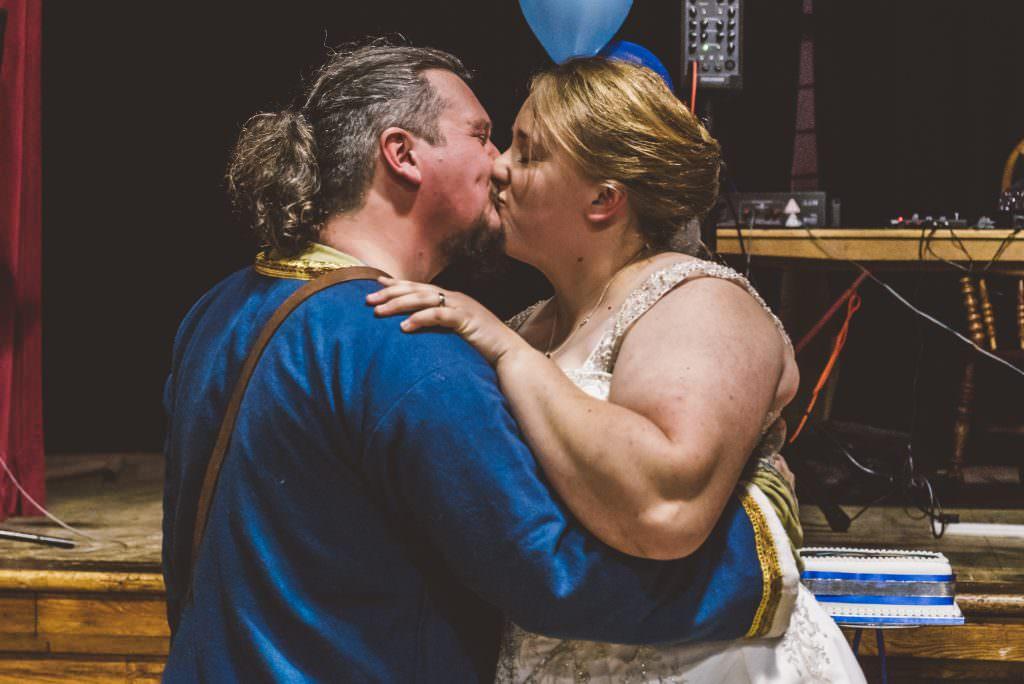 Viking themed wedding
