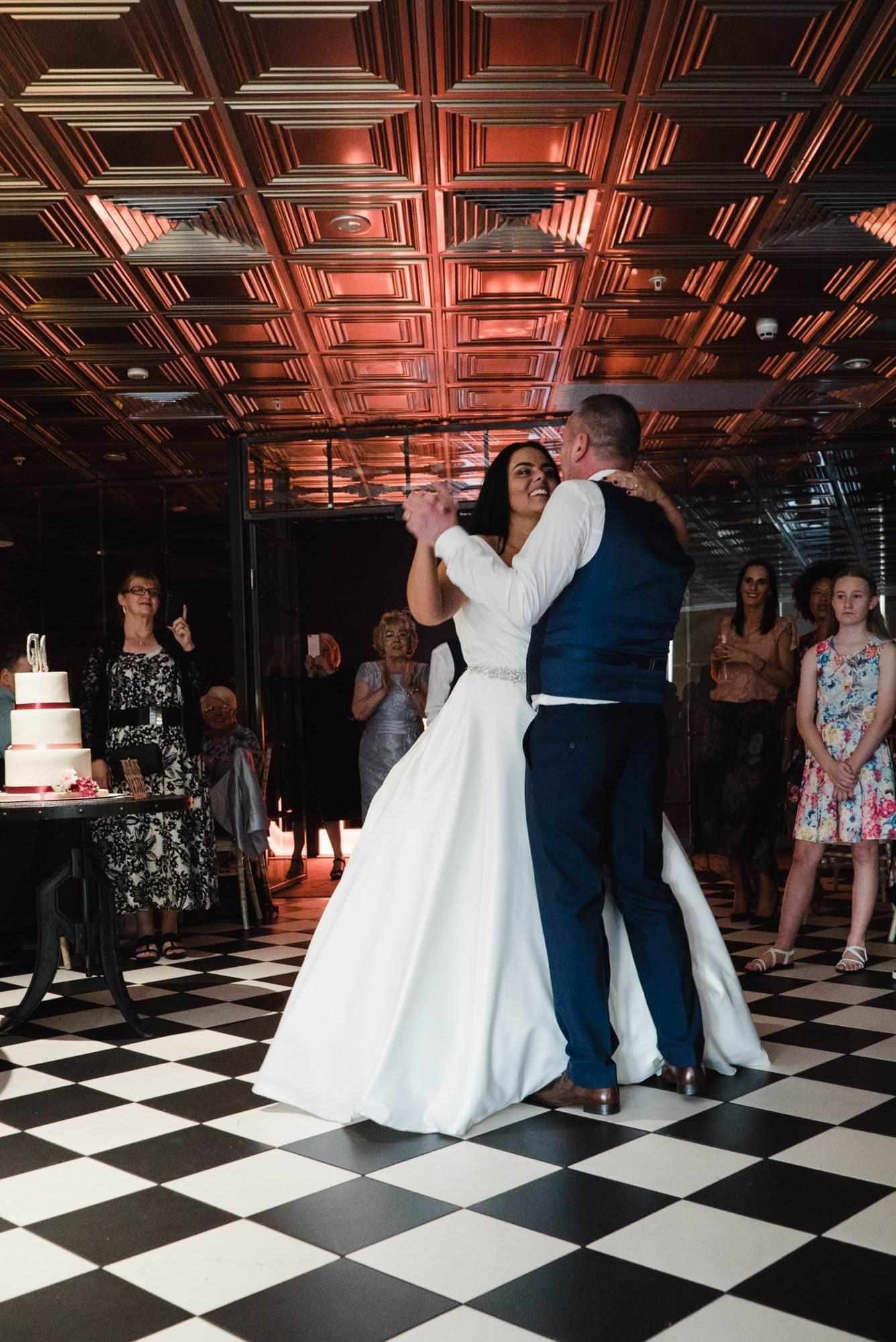 rachael stuart manchester onthe7th wedding  - Sneak Peek – Stuart & Rachael | Manchester