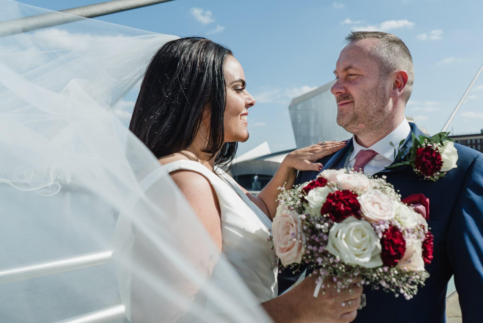 rachael stuart manchester onthe7th wedding 08495 - Sneak Peek – Stuart & Rachael | Manchester
