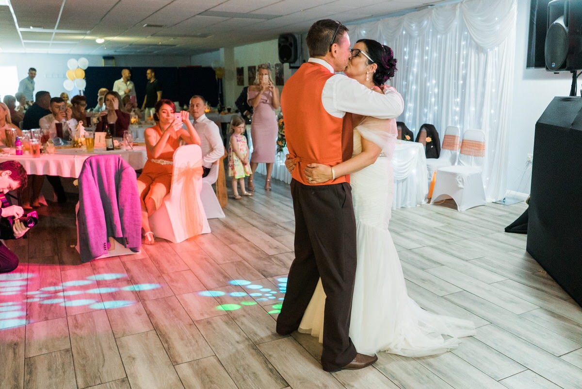 Thorne Rugby Club First Dance Photography