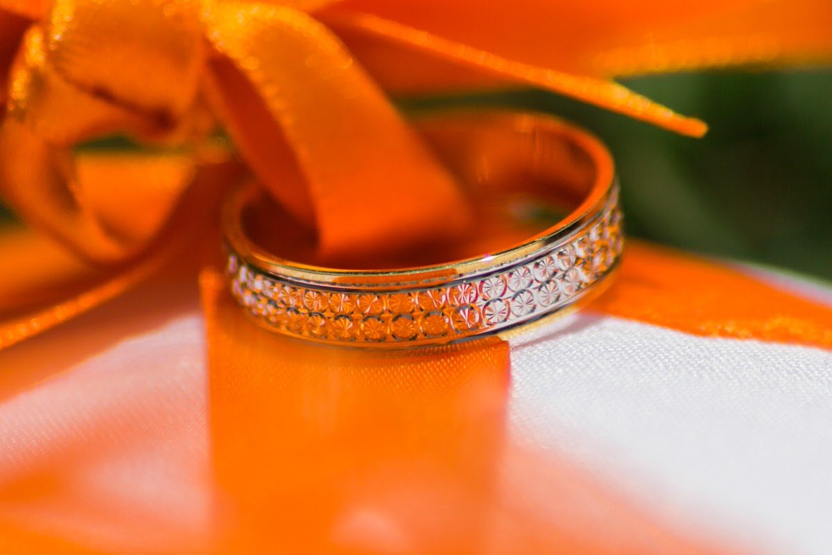Thorne Methodist Church Wedding Ring Shot