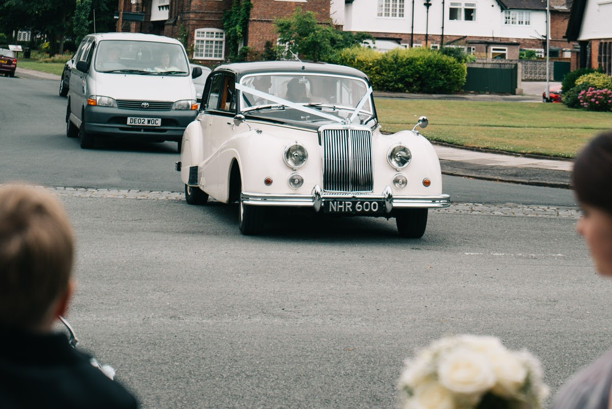 Arrival of the Bride at Portsunlight