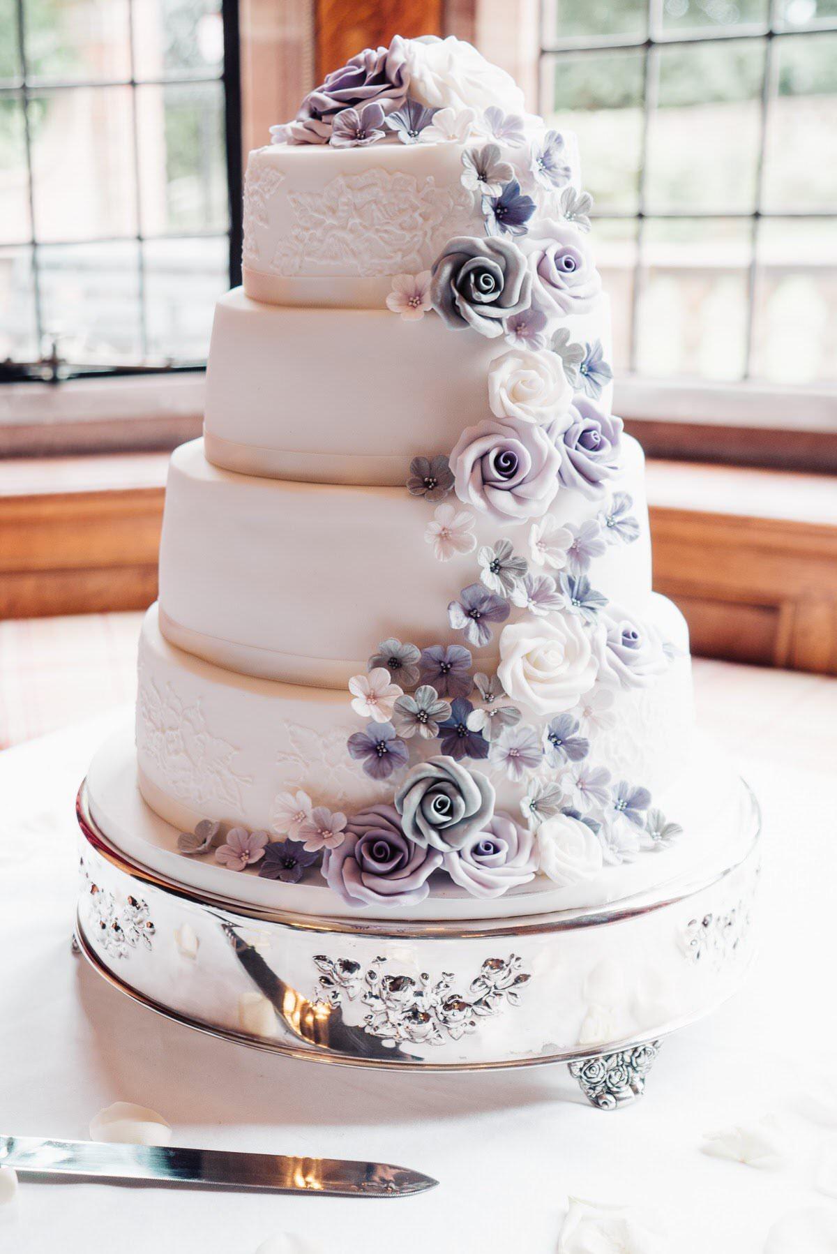 Wedding Cake at Inglewood Manor