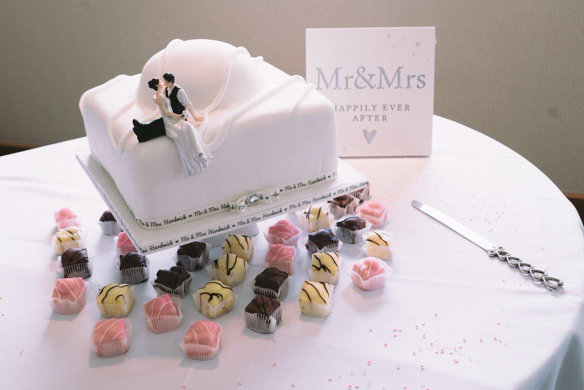 Greywood Hall Wedding Cake