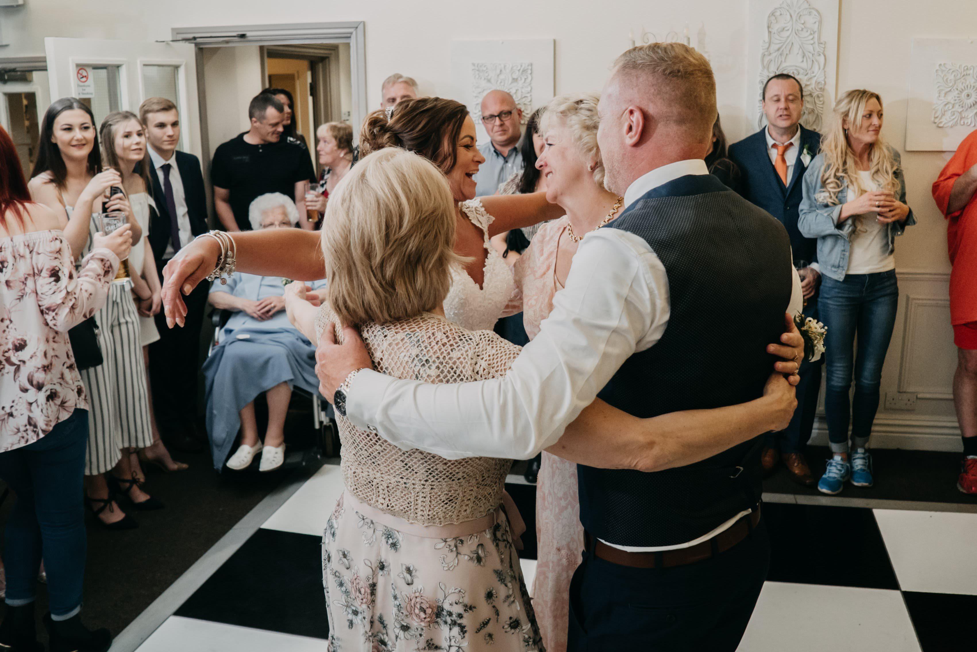 Dimple Well Lodge Wedding | Rachel & Tony 26