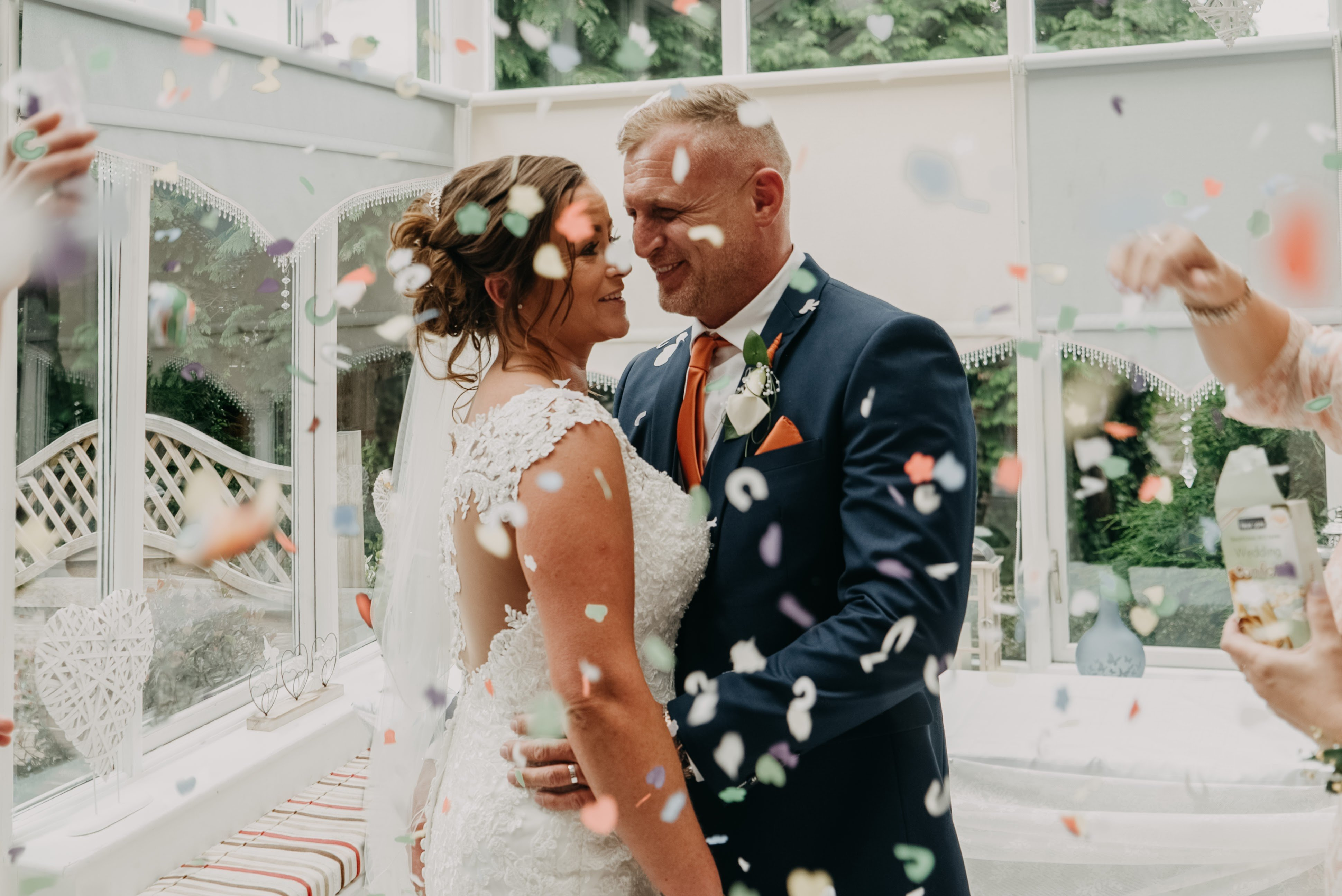 Confetti Shot in Dimple Well Manor