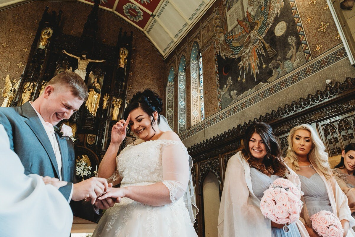 Hayley Chris St Johns Chorton Cum Hardy Manchester154257 - Hayley & Chris – St Johns Chorlton Wedding