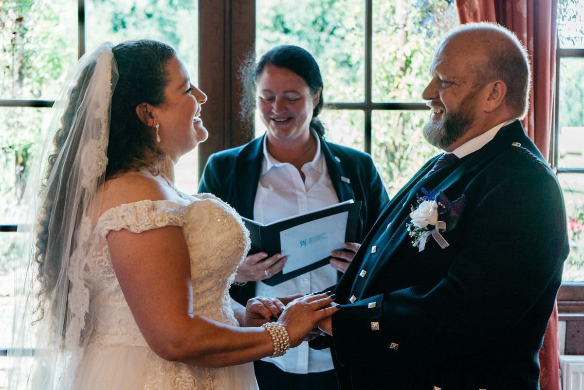 Pathhead Wedding Couple
