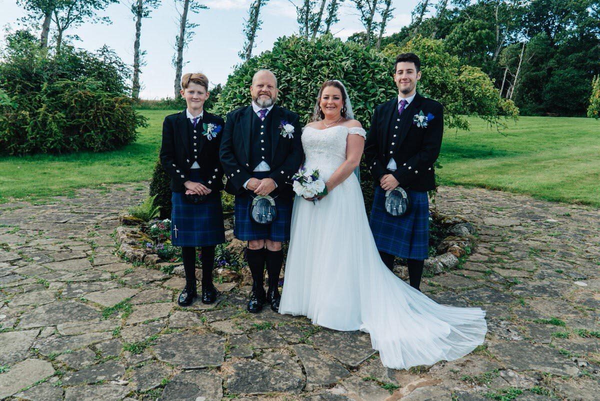 Wedding in Pathhead