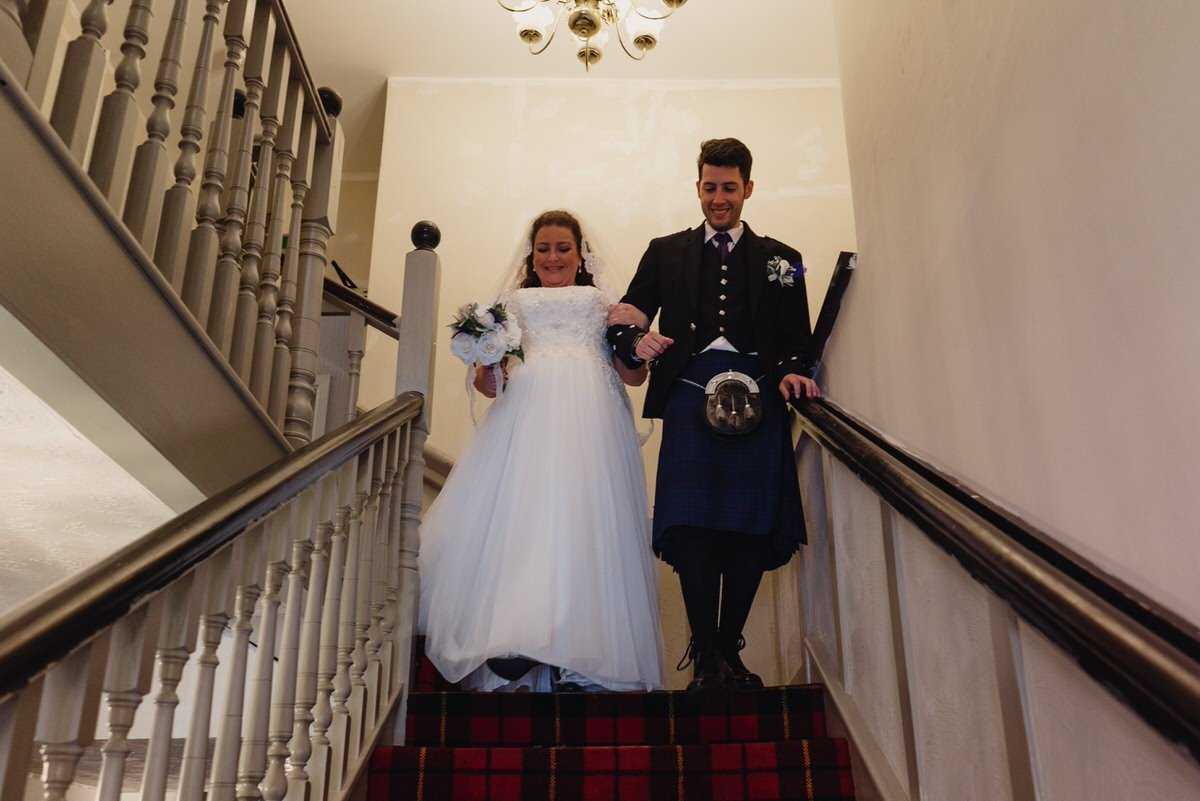 Stair Arms Hotel Wedding