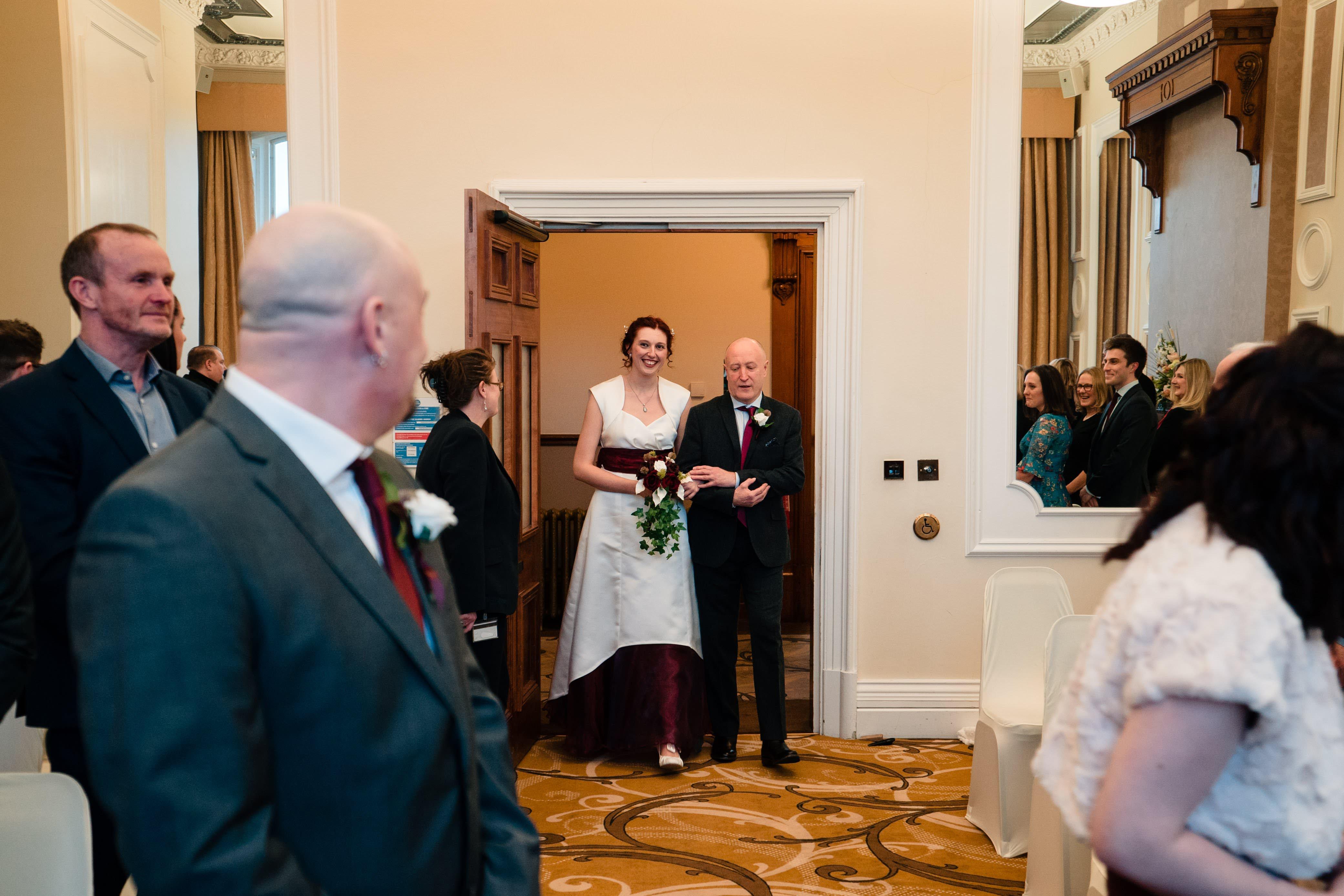 Huddersfield Registry Office Wedding