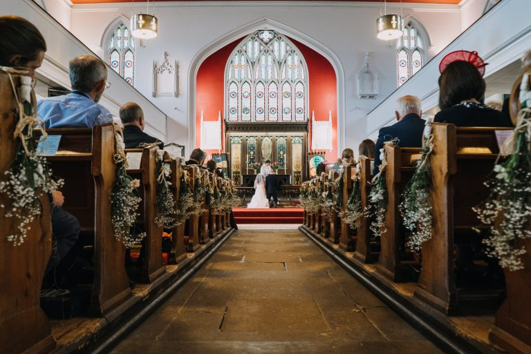 Wedding at St Peters