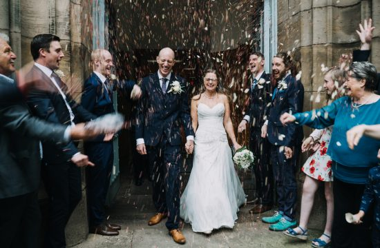 St Peters Church Wedding Confetti