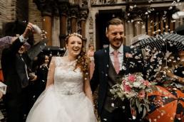 Bride Groom Confetti Throw
