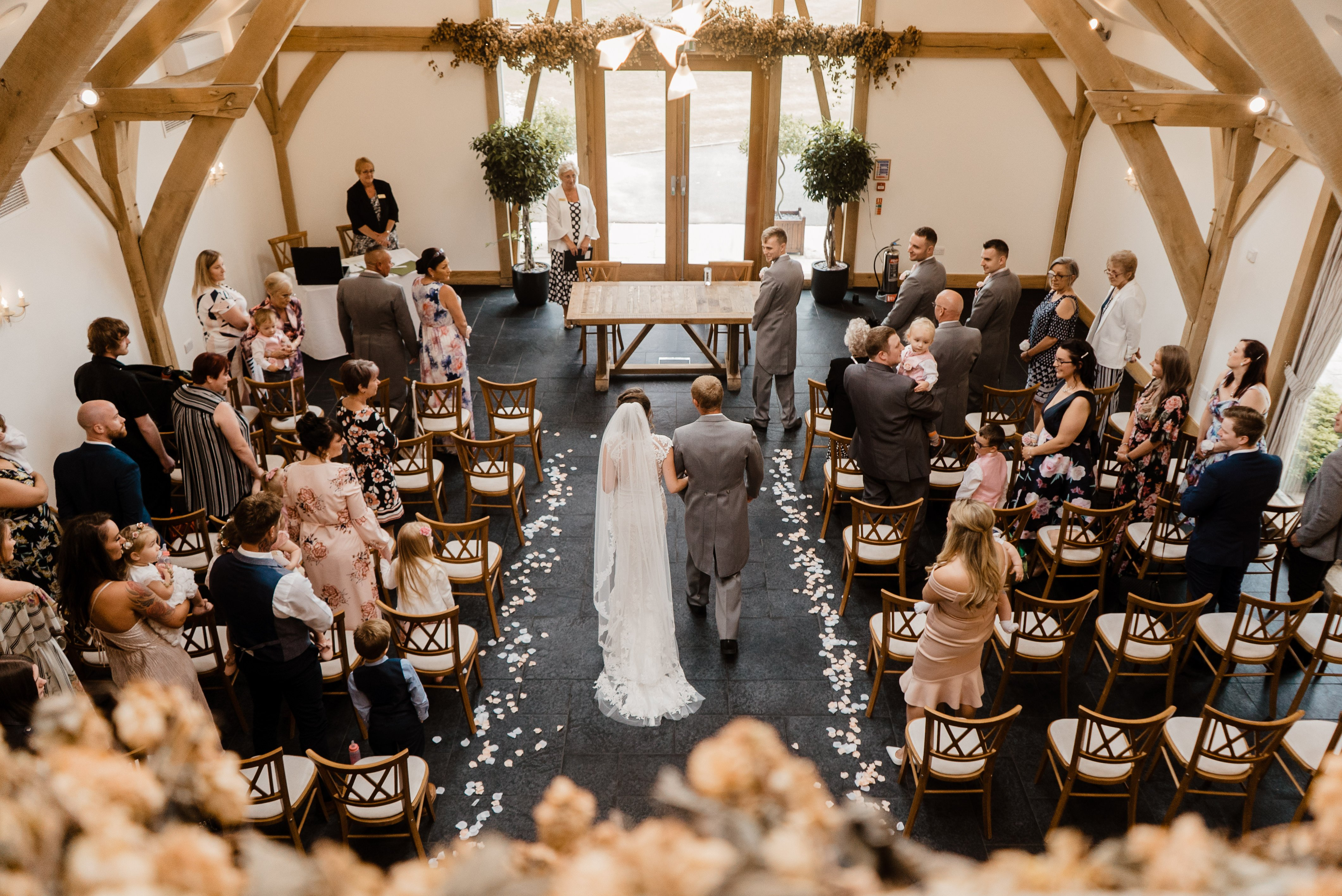Sneak Peek - Sheryl & Sam Mythe Barn Wedding Ceremony 9