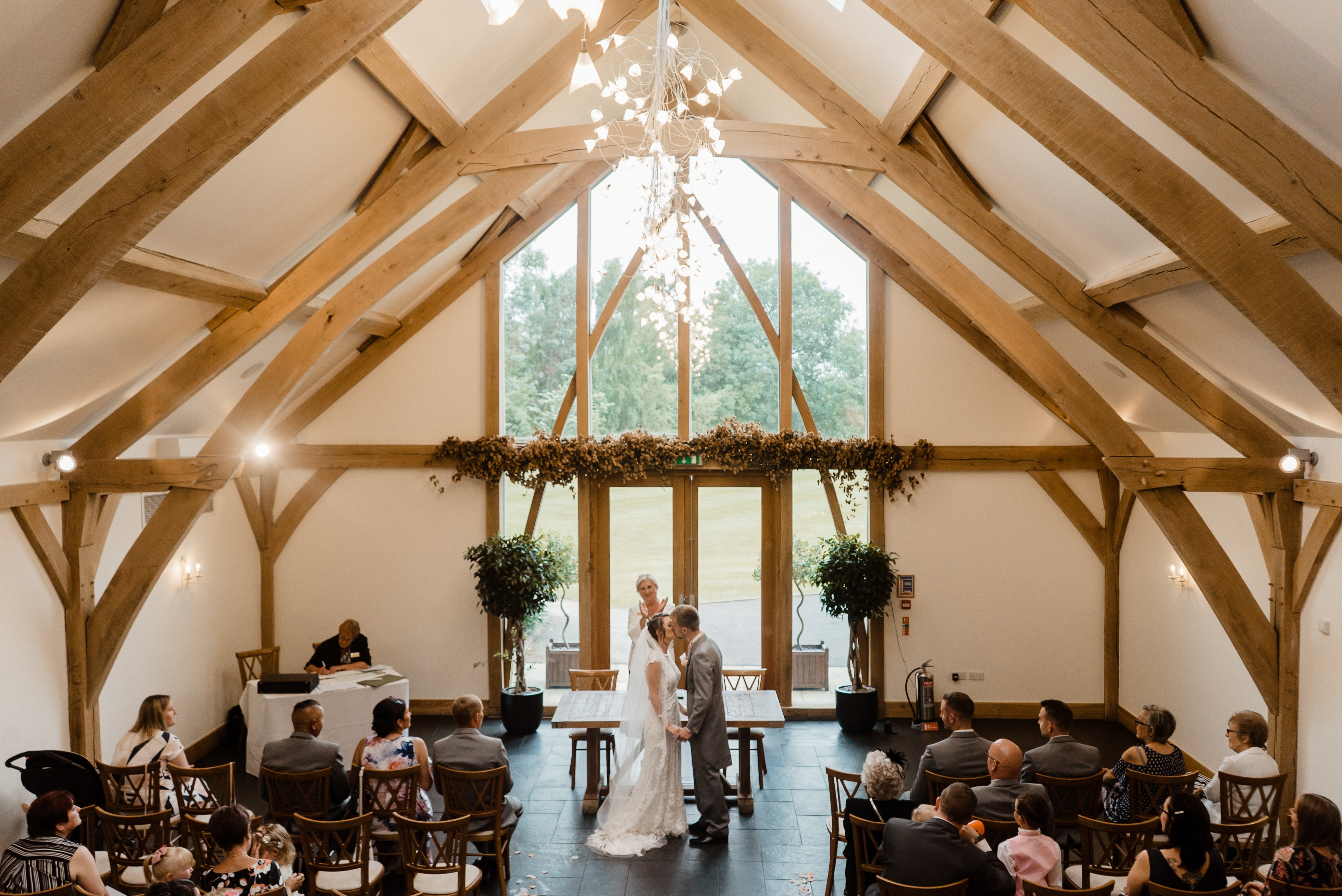 Sneak Peek - Sheryl & Sam Mythe Barn Wedding Ceremony 12