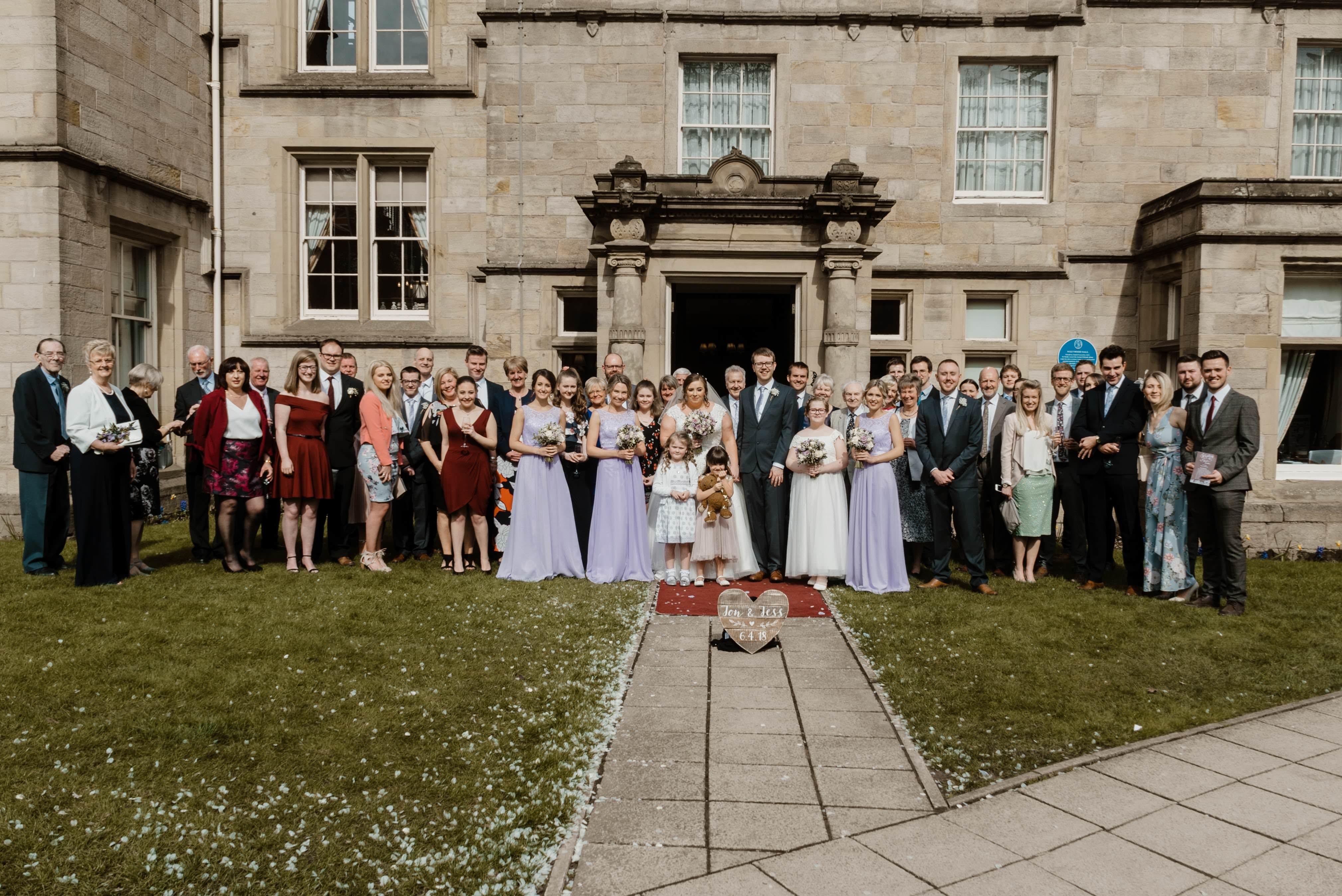 Sneak Peek - Jessica & Jonathan Weetwood Hall Wedding Leeds 5